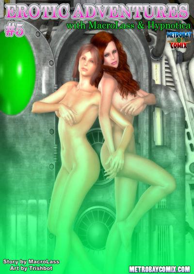 [Trishbot] – Erotic Adventures of Macrolass & Hypnotica 5