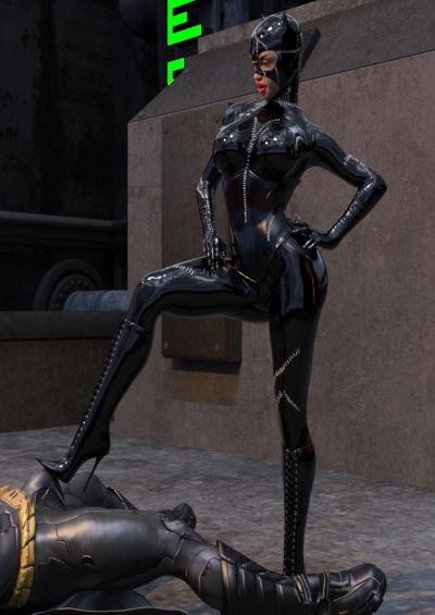 [Bigotedeplorable] – Catwoman Encounter