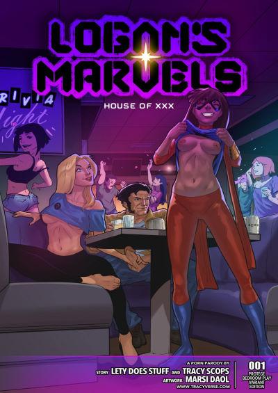 [Tracy Scops] – Logan's Marvels-House Of XXX