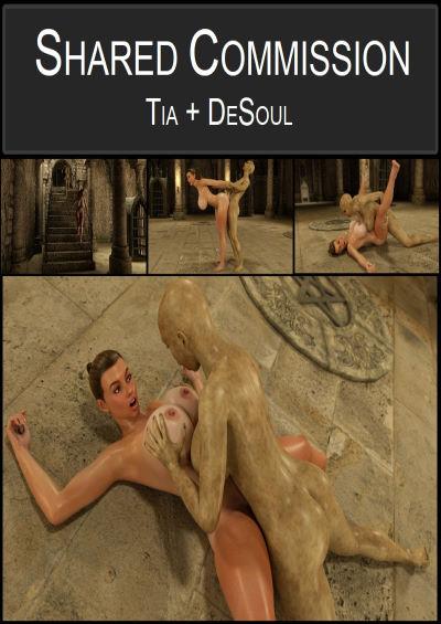 Shared Commission Tia + DeSoul [Blackadder]