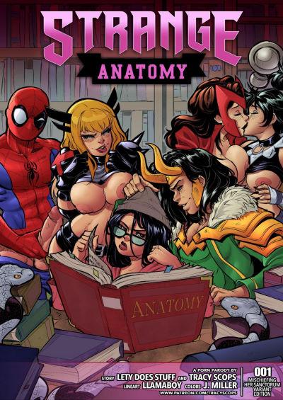 [Tracy Scops] – Strange Anatomy (Llamaboy)
