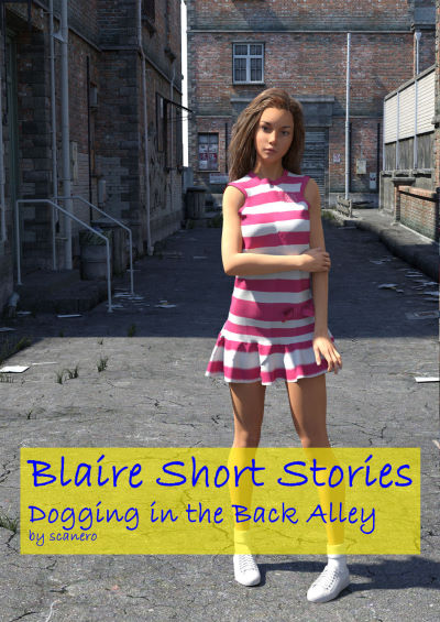 Blaire Short Stories – Dogging In The Back Alley