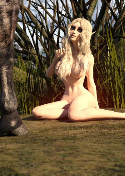 [Gerasya] – Elf with Horse