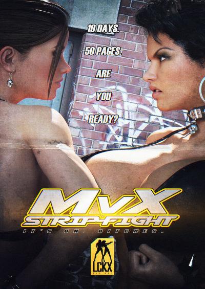 MvX Strip-Fight [Looks Can Kill]