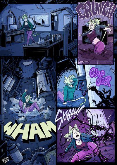 Seeping Ooze- Symbiote Catgirl