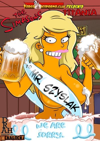 Drah Navlag- Titania [The Simpsons]