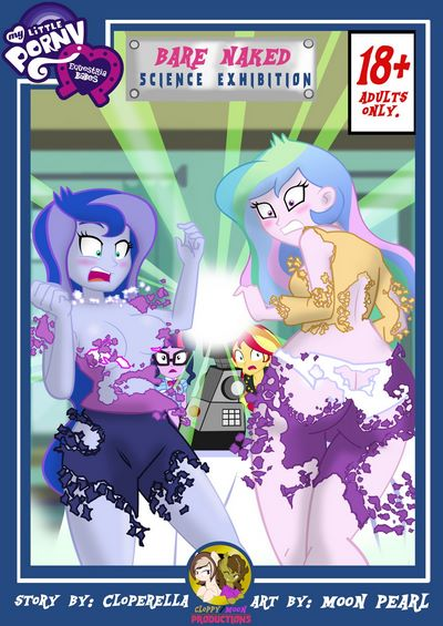 Equestria Girls- Bare Naked Science Exhibition [My Little Pony]