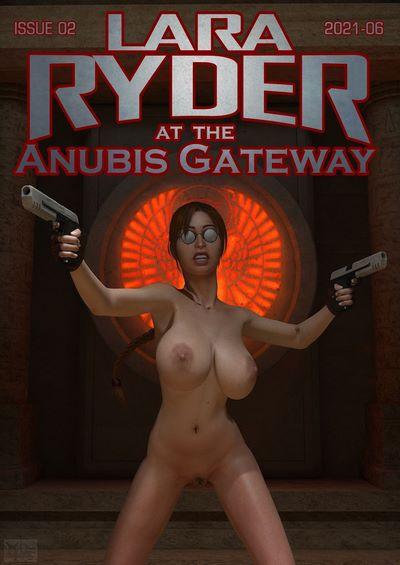 Briaeros- Lara Ryder at the Anubis Gateway [Tomb Raider]