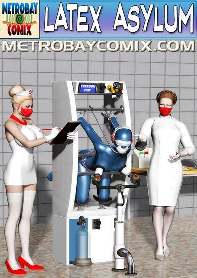 Finister Foul- Latex Asylum 22 [Metrobay Comix]