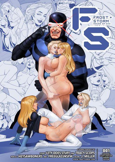 Tracy Scops- House of XXX – Frost Storm [X-Men]