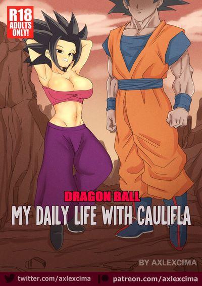 AxlexCima- My daily life with Caulifla [Dragon Ball Super]
