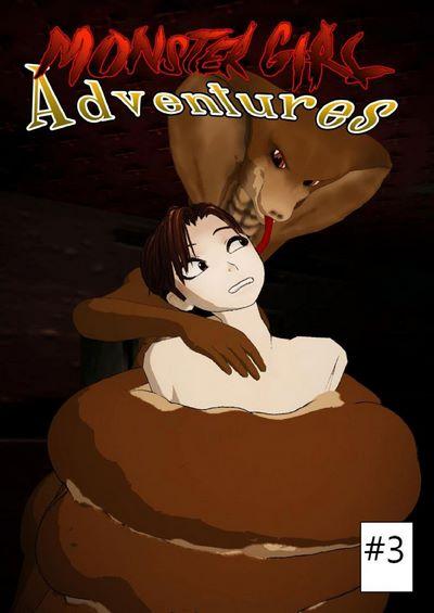Baldhamster- Monster Girl Adventures Issue #3