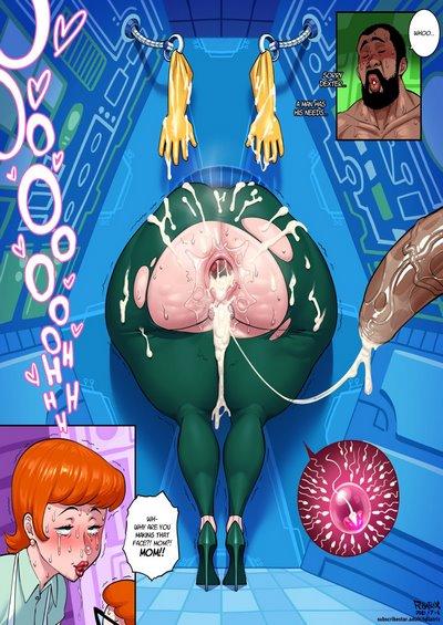 Fellatrix- Dexter's Mom Wallstuck [Dexter's Laboratory]