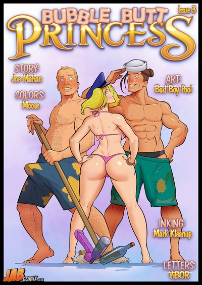 Jabcomix- Bubble Butt Princess Issue 3
