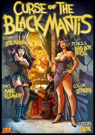 JabComix- Cursed of the Black Mantis
