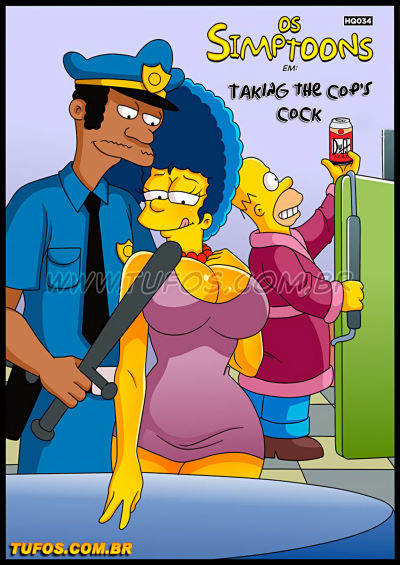 The Simpsons 34 – Taking the cop's cock – Tufos