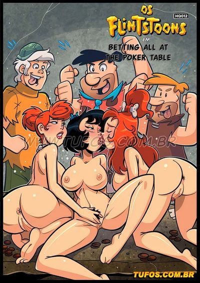 Tufos- Betting All at The Poker Table 12 [The Flintstones]