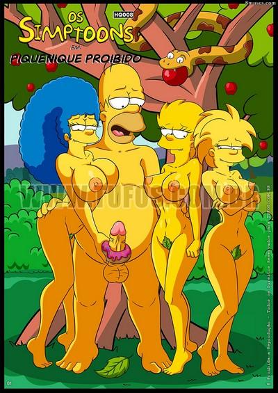 Tufos- Os Simptoons em – Piquenique Proibido [The Simpsons] English