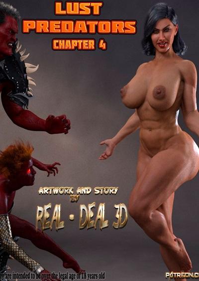 Real-Deal – Lust Predators Ch. 4