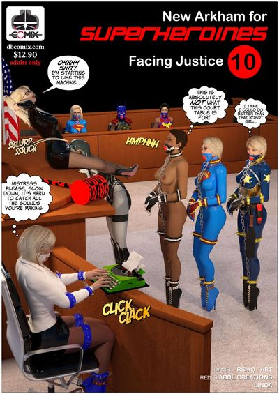 DBComix- New Arkham For Superheroines 10 – Facing Justice